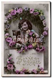 VINTAGE POSTCARD Fantasy Child Telephones