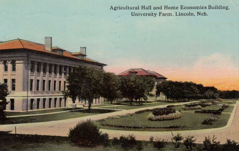 LINCOLN , Nebraska , 00-10s ; Ag Hall & Home Economics Building , University ...