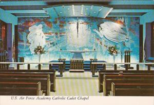 Colorado Colorado Springs United States Air Force Academy Catholic Cadet Chapel