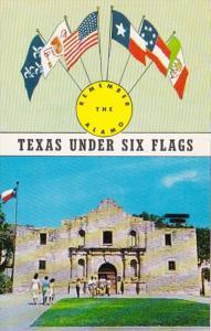 Texas San Antonio The Alamo Texas Under Six Flags