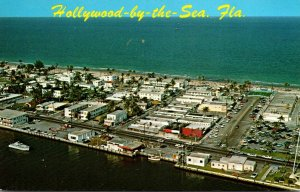 Florida Hollywood-By-The-Sea Aerial View