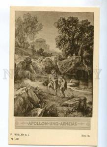 235304 Apollon Aeneas ILIAD by PRELLER Vintage #154-1849 PC