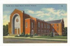 12th Street Baptist Church, Gadsden, Alabama, 30-40s