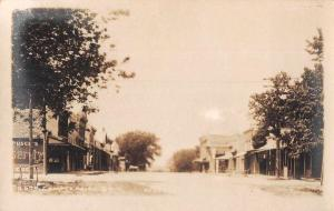 Waterloo Iowa? Commerce Street Real Photo Antique Postcard J79518