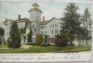 St Margarets School Waterbury  CT 1907