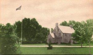 New York Buffalo Elmlawn Cemetery The Administration Building