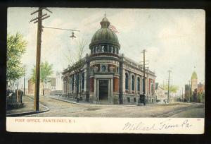 Pawtucket, Rhode Island/RI Postcard, Post Office