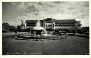 indonesia, JAVA SOERABAIA, Gedung Balai Kota (1950s) RPPC Postcard
