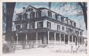 FRANKLIN, Massachusetts, 1900-1910's; Cresent House