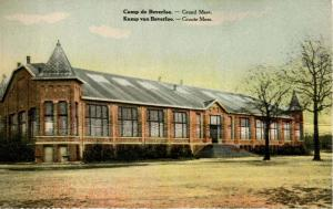 Belgium - Leopoldsburg. Camp Beverloo. Grand Mess Hall