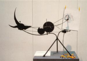 Art Sculpture Postcard, Meta-Matic No.9 Scorpion (1959) by Jean Tinguely 78U