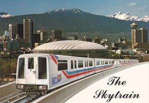 Stadium and Sky Train Vancouver British Columbia