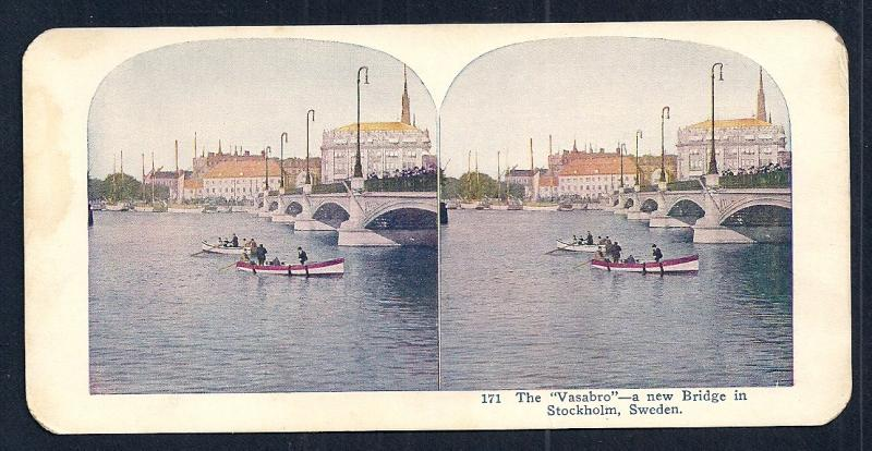 STEREOGRAPH CARDS (24) Worldwide Views w/Original Sleeve