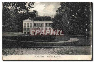 Postcard Old Cassel chateau d'Oxelaere