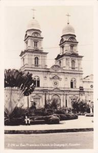 RP, San Francisco Church In Guayaquil, Ecuador, S.A., 1930-1950s
