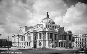 Mexico - Mexico City, Palace of Fine Arts    *RPPC