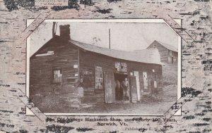 NORWICH, Vermont, 1900-1910s; Old Village Blacksmith Shop