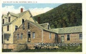 Old Willey House in Crawford Notch, New Hampshire