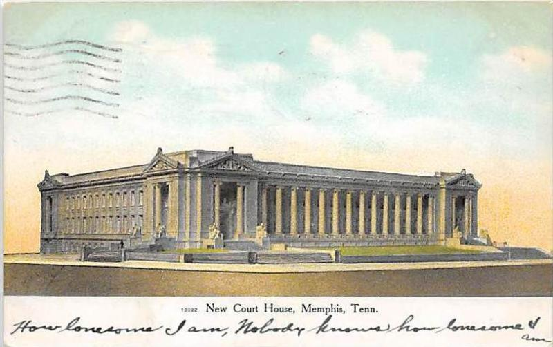 Tennessee Memphis  New Court House