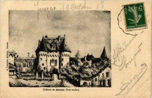 CPA Chateau de Jonzac (Etat ancien) (975466)