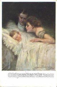 Artist Signed Clarence Underwood 1913 light corner wear, very light postal ma...