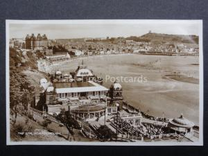 Yorkshire SCARBOROUGH The Spa c1937 RP Postcard by Valentine G6982