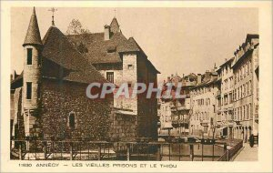 Postcard Old Annecy Old Prisons and the Thiou
