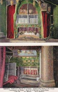 BETHLEHEM, 1900-10s; Grotte of the nativity & the manger