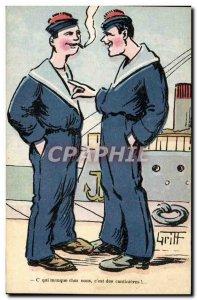 Old Postcard Fantasy Illustrator Griff Marine