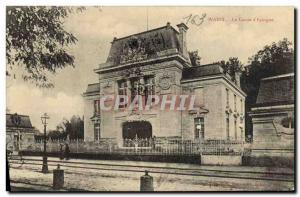 Old Postcard Bank Caisse d & # 39Epargne Wassy