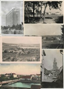 Czech Republic - Postcard Lot of 30 RPPC and Printed  01.01