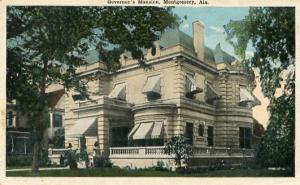 AL - Montgomery, Governor's Mansion