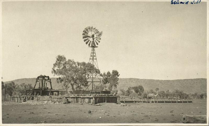 australia, ALICE SPRINGS, N.T., Stuart Well (1920s) RPPC