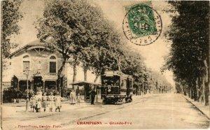 CPA CHAMPIGNY La Grande Rue (869382)
