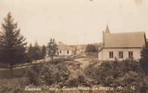 RP; SOUTH BRISTOL , Maine , 1900-10s ; Church & School House