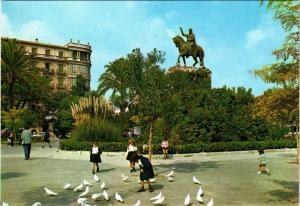 CPA Espagne-Mallorca-Palma de Mallorca-Place d'Espagne (323424)