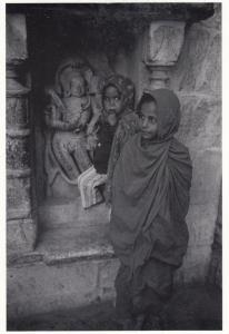 Eklingji Old Hindu Temple India Beggar Woman Indian Award Photo Winner Postcard