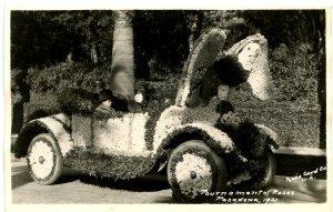 CA - Pasadena. Tournament of Roses Parade, Floral Car, 1921   *RPPC