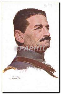 Postcard Former Army General Mangin