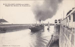 BOULOGNE-SUR-MER, Depart du Bateau de Folkestone, France,  00-10s