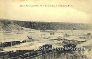 Merrimack Falley Flood Control Dam Franklin NH Unused