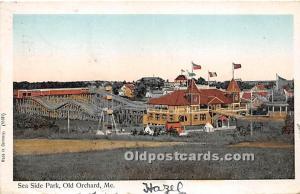 Sea Side Park, Copper Windows Old Orchard, Maine, ME, USA 1906