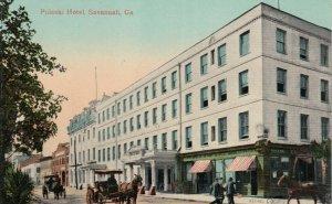 SAVANNAH , Georgia, 1900-10s ; Pulaski Hotel