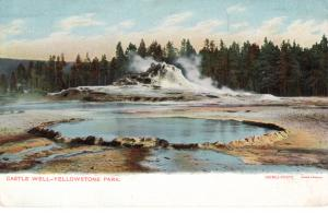 Castle Well, Yellowstone National Park, pre-1907