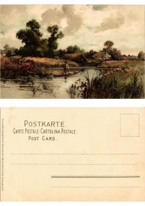 CPA Von Wald und Wiese Meissner & Buch Litho Serie 1230 (730420)