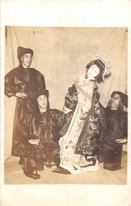 Japan Costumes, Geisha theatre