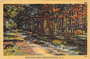 Greetings from - Mountaindale, New York