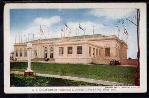 US Government Building,Jamestown Exposition BIN