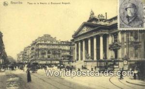 Bruxelles, Belgium, België, la Belgique, Belgien Place de la Bourse et Boule...