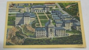 CARNEGIE INSTITUTE OF TECHNOLOGY Pittsburgh PA Unused Postcard